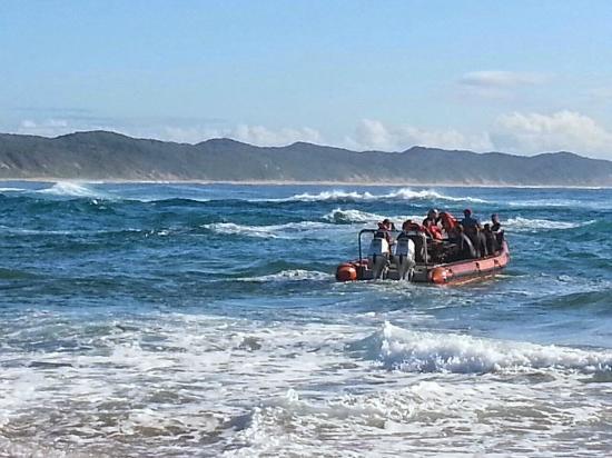 Sodwana Bay: Diving launch