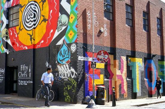 Shoreditch Street Art Tour April 2015