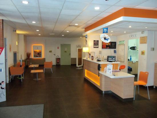 Ibis Budget Lille Centre: la réception