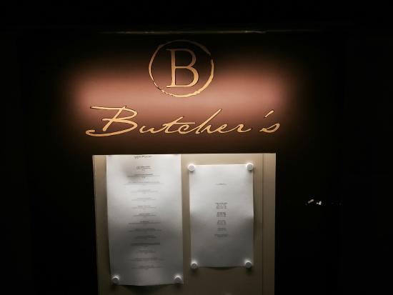Butcher's American Steakhouse: Außenansicht