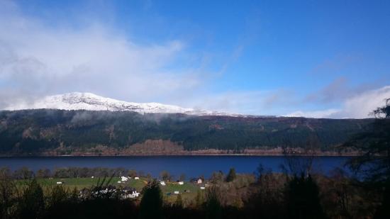 The Craigdarroch Inn: Stunning views over Loch Ness