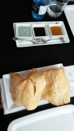 Chai Indian Restaurant Sitges : Poppadoms