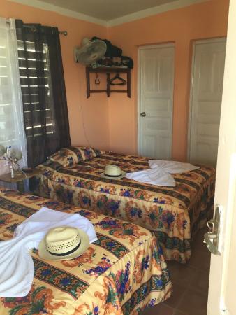 Villa Los Pandaderos: Room on second floor