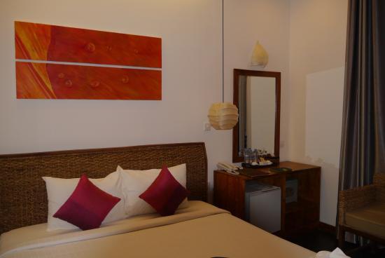 Monsoon Boutique Hotel : ベッドルーム
