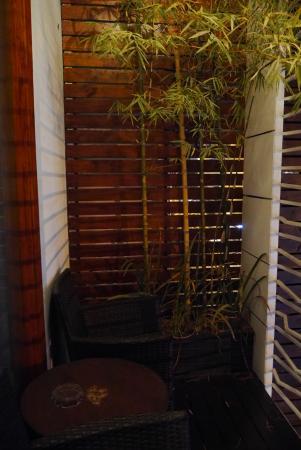 Monsoon Boutique Hotel : 入口ドアへのアプローチ