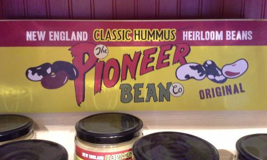 West Townshend, VT: Gourmet hummus.