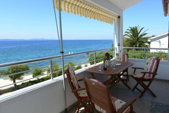 Villa Katarina: Terrace of apartment A1 for 4 persons