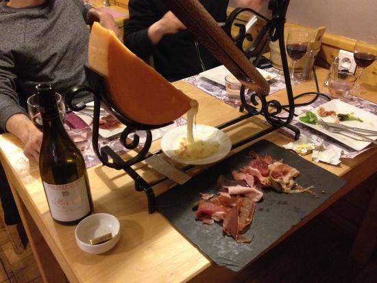 Les Flocons : Tasty Raclette