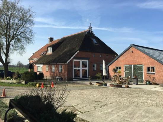 Ureterp, The Netherlands: Vanaf het terrein gezien