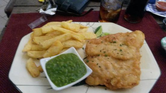 George & Dragon: fish and chips