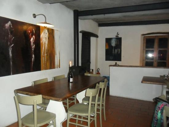 Cantina del Saltapicchio : interno