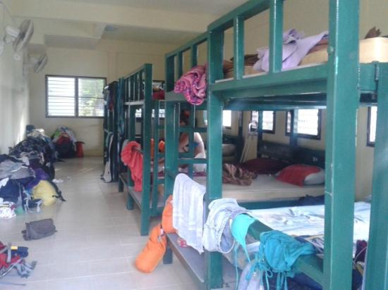 The Rock Backpacker: Messy room