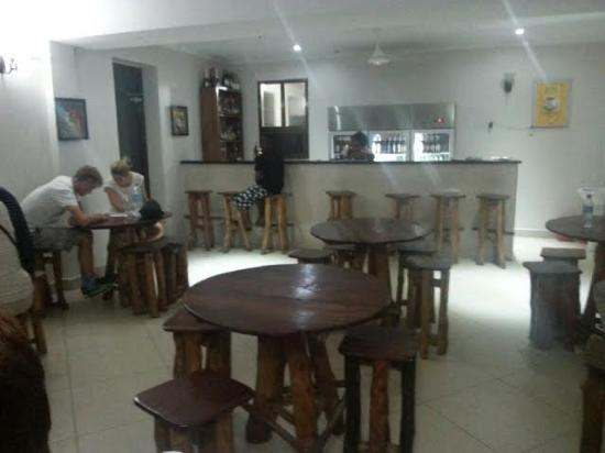 FQ Hotel : Hotel Restaurant. Rustic, but clean and comfortable.