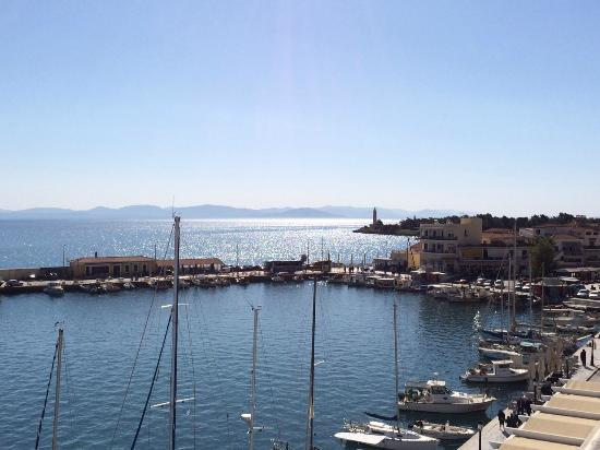 Pantheon City Hotel: vue superbe coté port