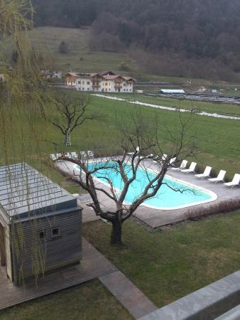 Elda Eco Ambient Hotel: Vista piscina