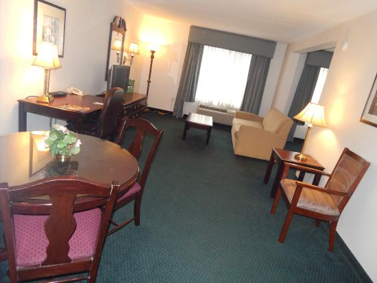 Wingate by Wyndham Duluth/Atlanta: King Suite-Living/Dining Area
