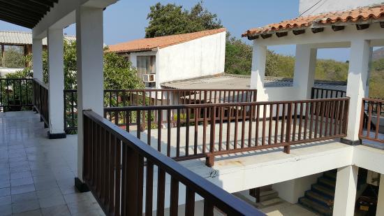 Hotel Los Veleros: Corredor de Cuartos