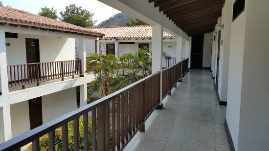 Hotel Los Veleros: Corredor de Habitaciones