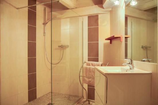 Le Domaine des Remparts : Salle de bain chambre Alsacienne