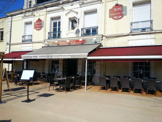 L'Imprevu Les Brasseries Gourmandes : La terrasse