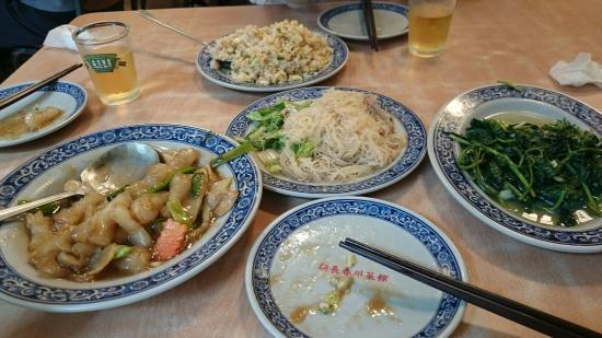 New Changchun Chuantaicai Restaurant: 路地裏の食堂