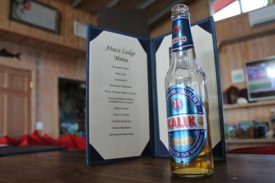 Abaco Lodge: Tapas night and a Kalik
