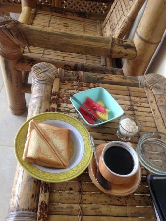 Ressa Homestay: Very basic breakfast