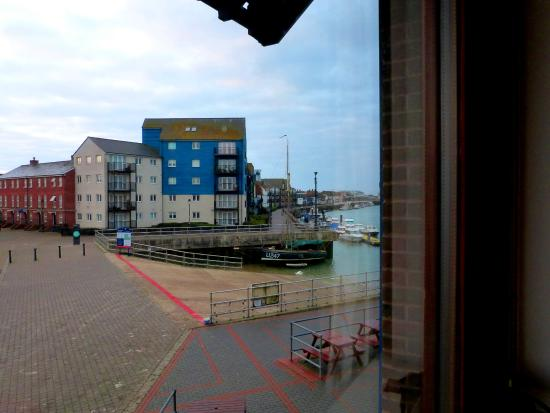 YHA Littlehampton: View from my room window