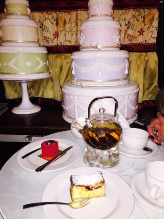 Our table --full of delicious desserts.