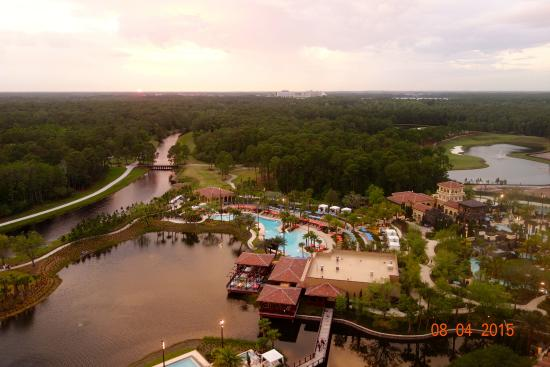 View from Capa, top floor - Picture of Four Seasons Resort Orlando ...