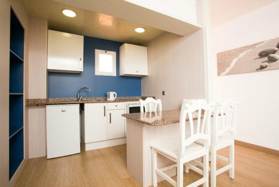 Aparthotel Aquasol: Cocina