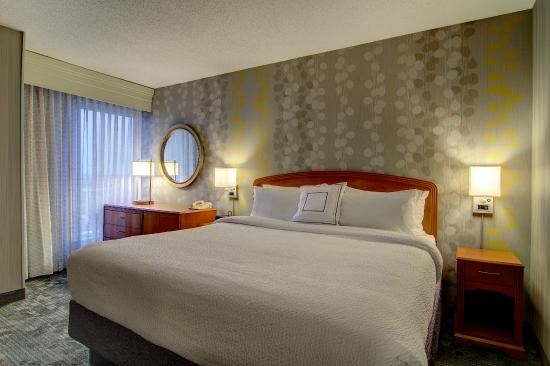 Courtyard Tysons Corner Fairfax: King Bed Guest Room