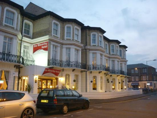 The Waverley Hotel: Hotel frontage