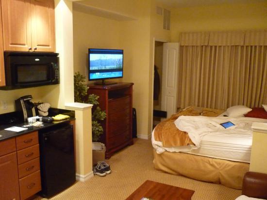 The Point Orlando Resort : Heerlijk bed