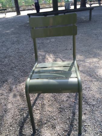 París, Francia: Chair, Jardin de Luxembourg