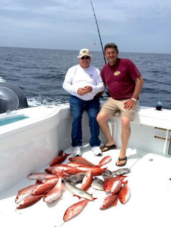 Southbound charter mexico beach all you need to know for Fishing charters mexico beach fl