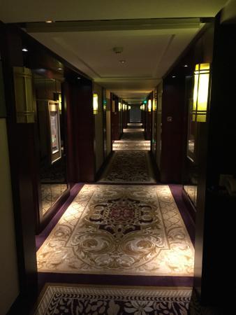 Infine Hotel: Corridor