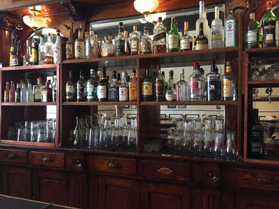 old english style pub bar setup very nice picture of buggy 39 s diner whitchurch stouffville. Black Bedroom Furniture Sets. Home Design Ideas