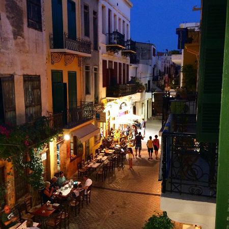 El Greco Hotel: Una foto tratta dal balcone della mia camera