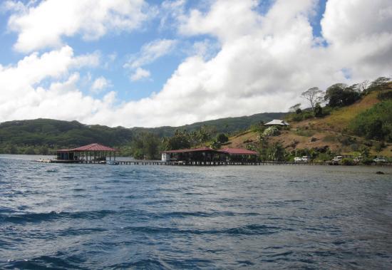 Love Here Pearl Farm : Vue de la mer