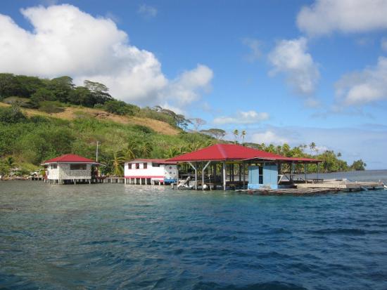 Love Here Pearl Farm : Le site vue de la mer