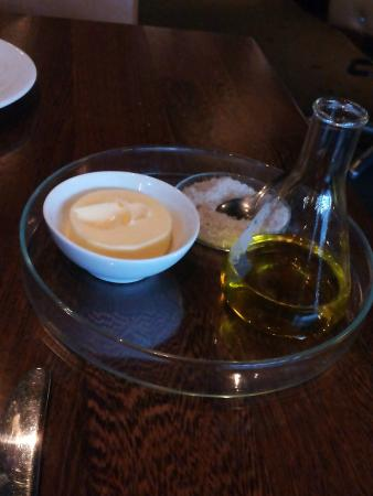 Restaurant Huson : Heerlijk met vers brood gesereerd