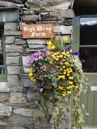 High Wray Farm: Shelia's front door