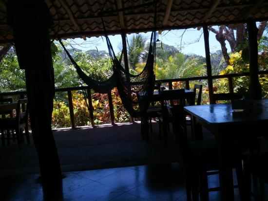 El Sueño Tropical: View from the Tiki Bar/ Restaurant