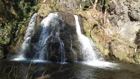 Rosemarkie, UK: waterfall in Fairy Glen