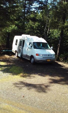 Whalers Rest RV & Camping Resort : Sunshining on us! :0)