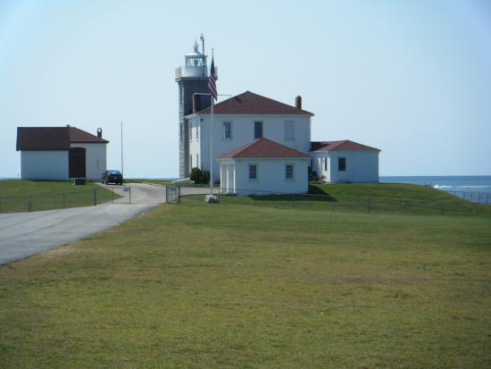 Watch Hill Lighthouse: Now a CG station
