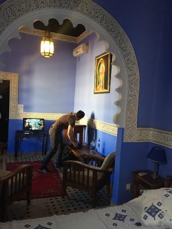 Riad Fes Baraka : View 2 of Essaouria Suite
