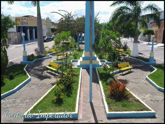 Porto Real do Colegio, AL: Praça Rosita de Gos Monteiro