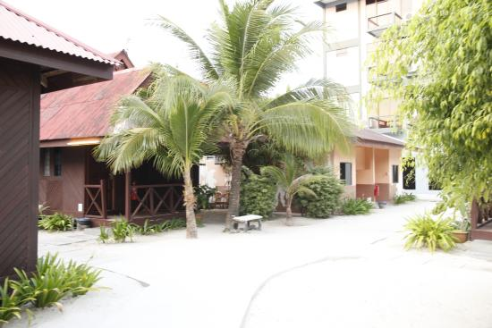 Malibest Resort: looking back at my room
